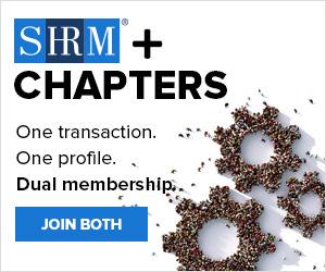 Dual Membership Logo. SHRM + Chapters. One Transaction. One Profile. Dual Membership. Join Both Link
